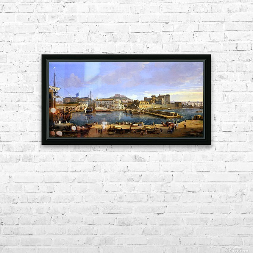 Darsena delle Galere HD Sublimation Metal print with Decorating Float Frame (BOX)