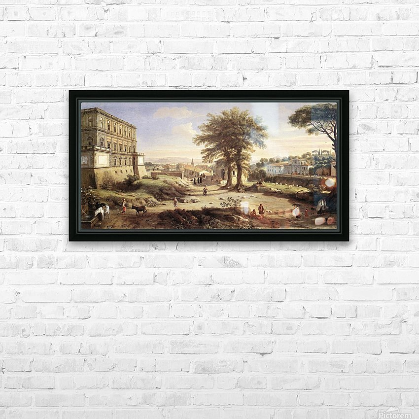 Frascati HD Sublimation Metal print with Decorating Float Frame (BOX)