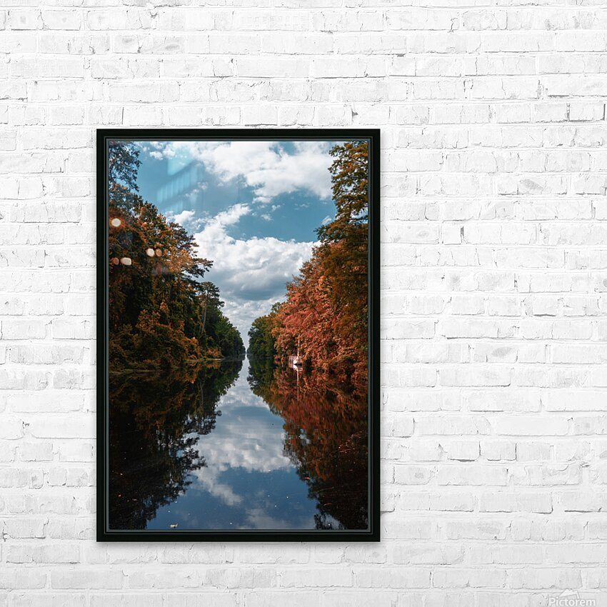 Vantage of the Inner Speaker HD Sublimation Metal print with Decorating Float Frame (BOX)