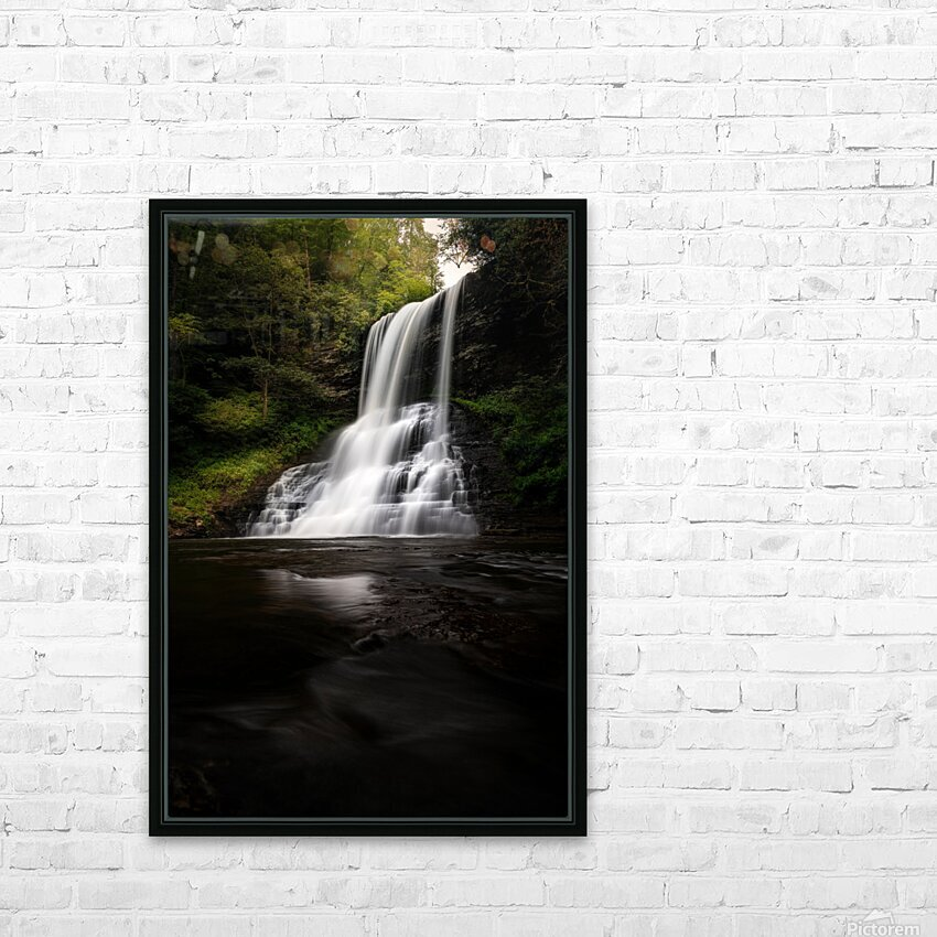 Capturing the Cascade HD Sublimation Metal print with Decorating Float Frame (BOX)