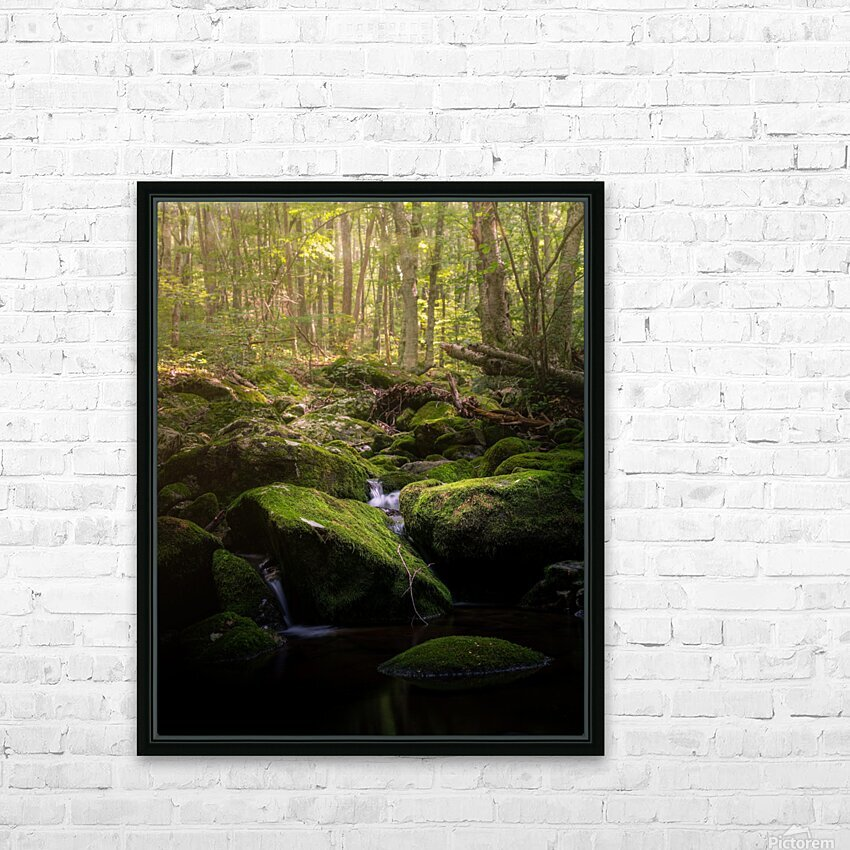 From afar what holds you near HD Sublimation Metal print with Decorating Float Frame (BOX)