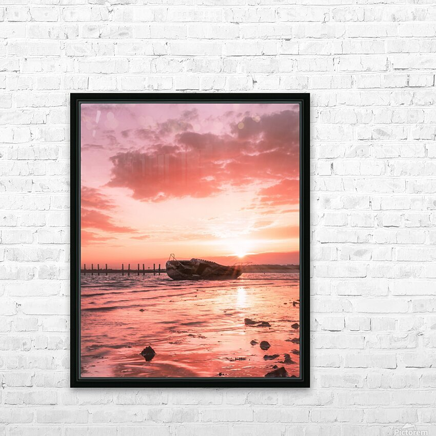 So long to what has become far gone HD Sublimation Metal print with Decorating Float Frame (BOX)