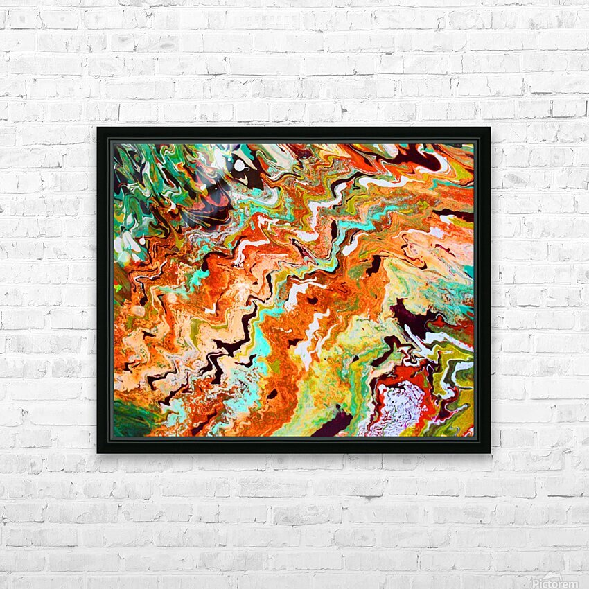 Rust Canyon HD Sublimation Metal print with Decorating Float Frame (BOX)