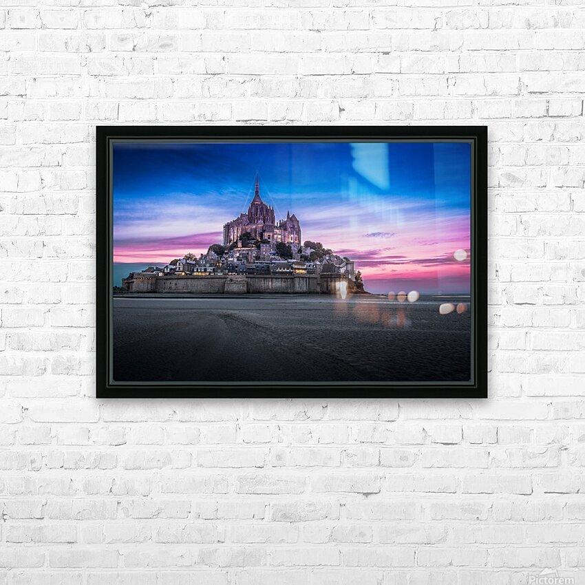 ch00003 HD sublimation métal imprimé avec décoration flotteur cadre (boîte)