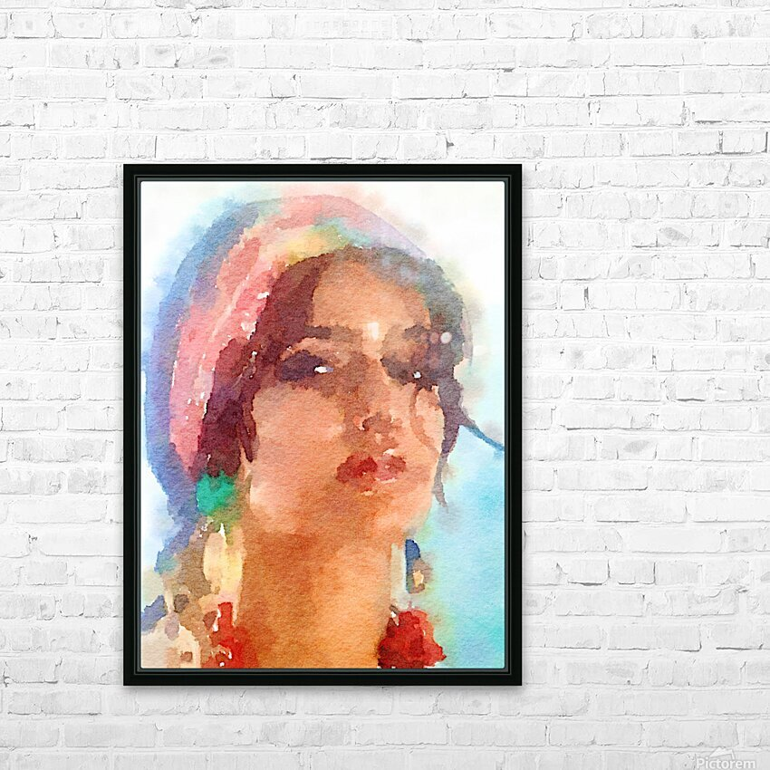 Esmeralda HD Sublimation Metal print with Decorating Float Frame (BOX)