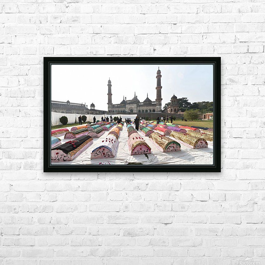 Moharram procession HD Sublimation Metal print with Decorating Float Frame (BOX)