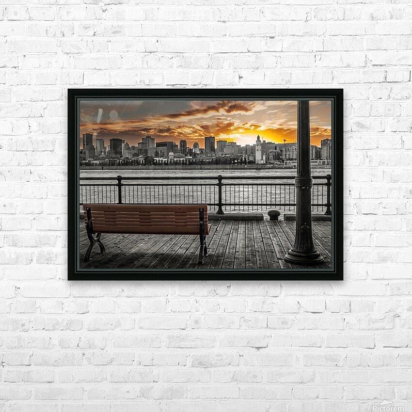 dh00008 HD sublimation métal imprimé avec décoration flotteur cadre (boîte)