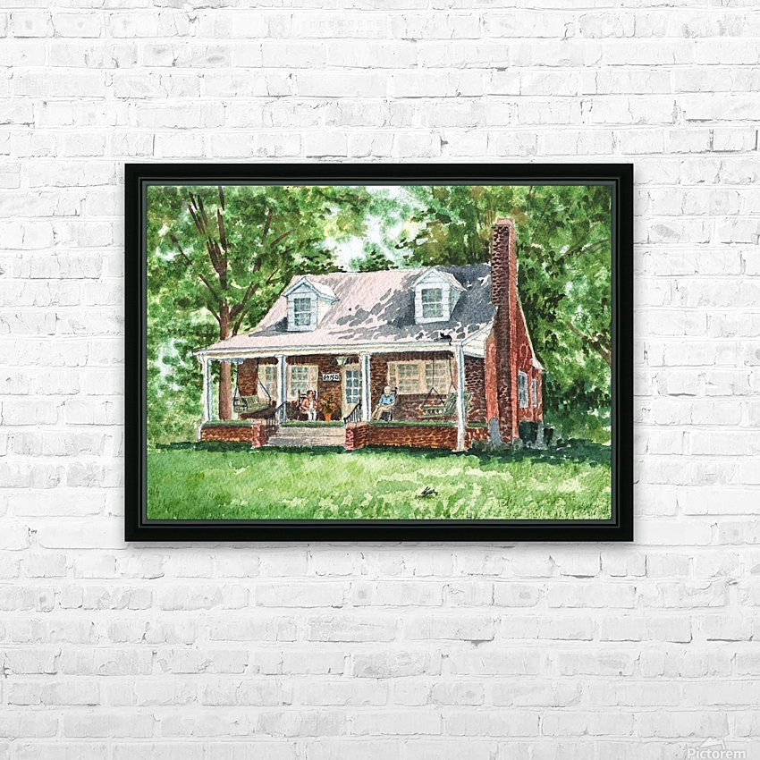 East Coast Summer HD Sublimation Metal print with Decorating Float Frame (BOX)