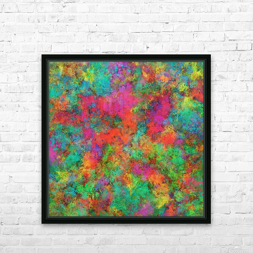 The spark HD Sublimation Metal print with Decorating Float Frame (BOX)
