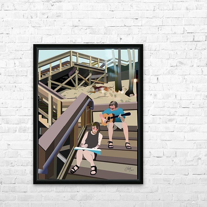 Devils Millhopper HD Sublimation Metal print with Decorating Float Frame (BOX)