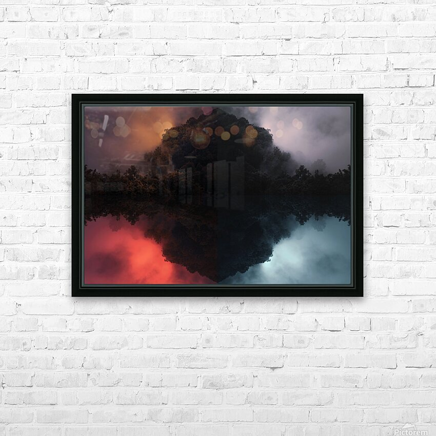 Fog Yeah HD Sublimation Metal print with Decorating Float Frame (BOX)