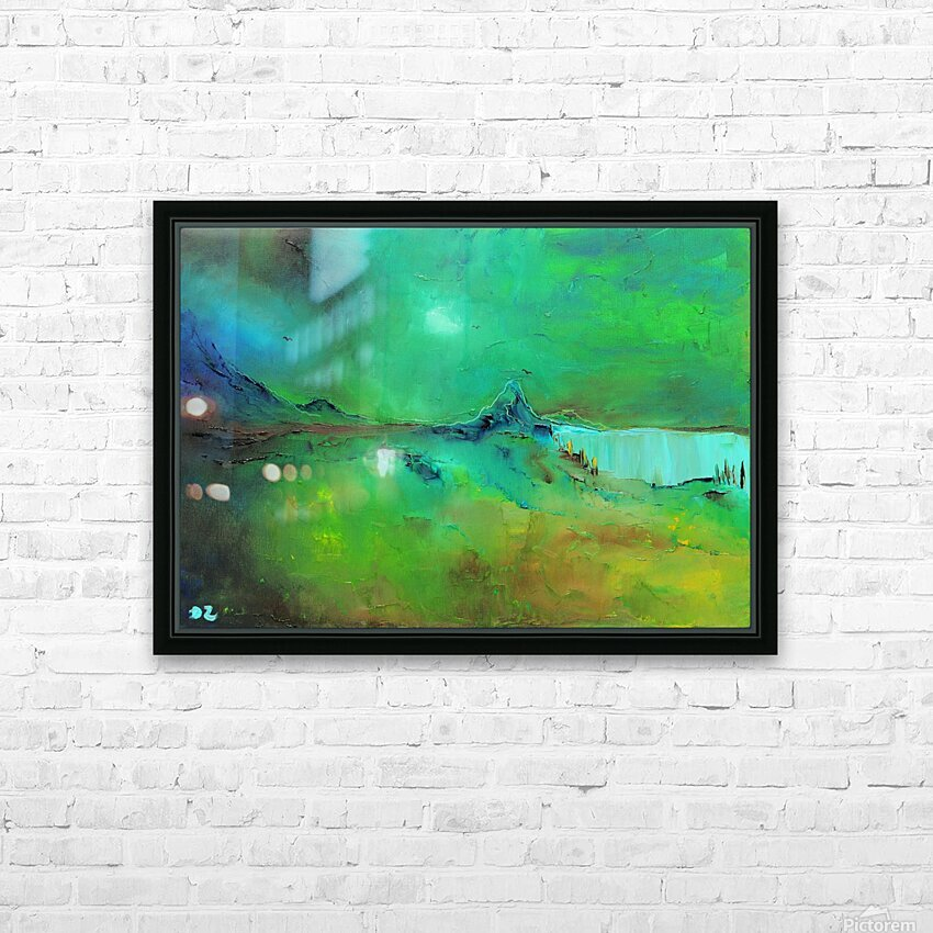 Freshness-2 HD Sublimation Metal print with Decorating Float Frame (BOX)