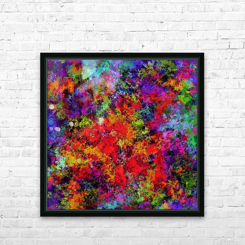 Overload HD Sublimation Metal print with Decorating Float Frame (BOX)