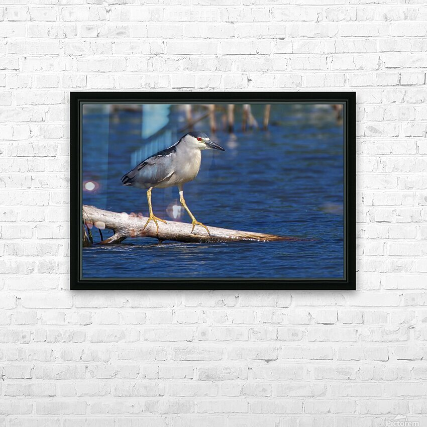 Balancing act HD Sublimation Metal print with Decorating Float Frame (BOX)