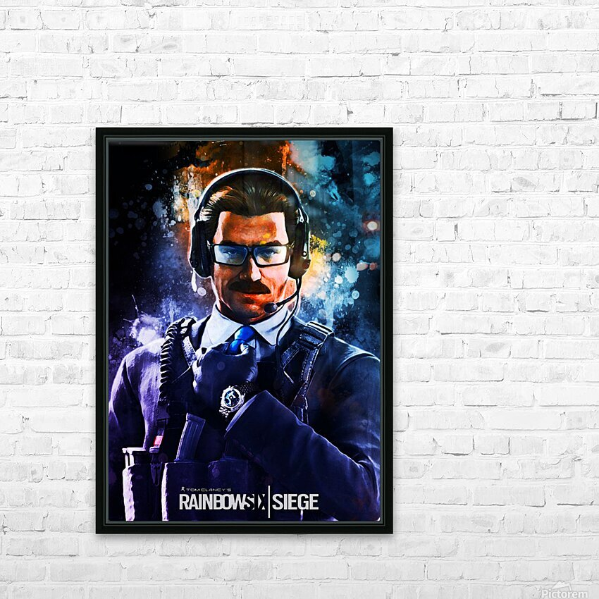 Rainbow Six Siege HD Sublimation Metal print with Decorating Float Frame (BOX)
