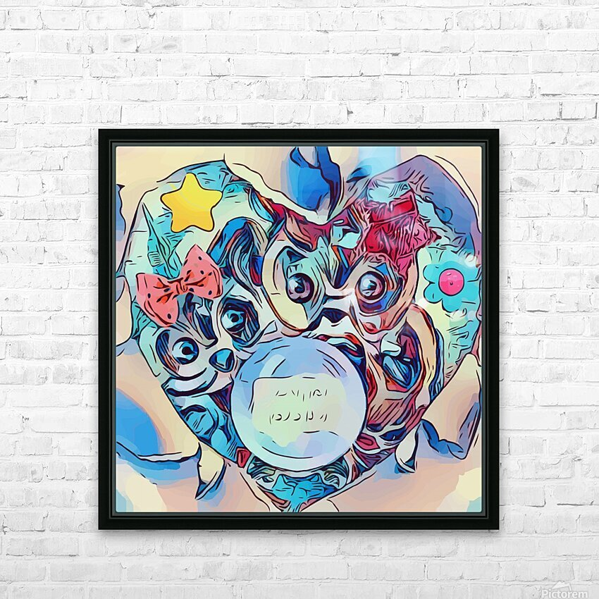 The Foretelling  HD Sublimation Metal print with Decorating Float Frame (BOX)