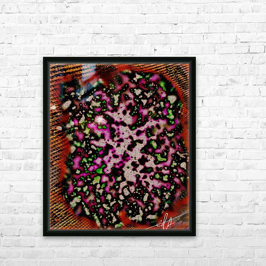 Witches Brew Nuked in a Bread Bowl HD Sublimation Metal print with Decorating Float Frame (BOX)