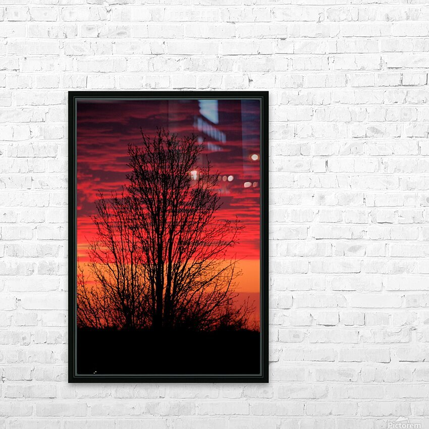 Missouri Sunset part 1 HD Sublimation Metal print with Decorating Float Frame (BOX)