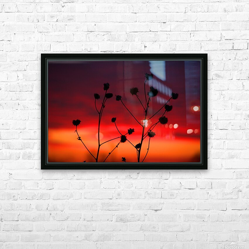 Missouri Sunset part 2 HD Sublimation Metal print with Decorating Float Frame (BOX)