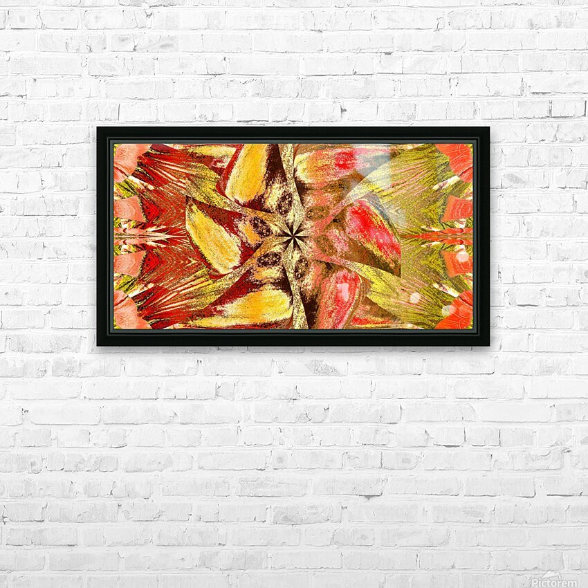 Wildflower In The Wind 2 HD Sublimation Metal print with Decorating Float Frame (BOX)