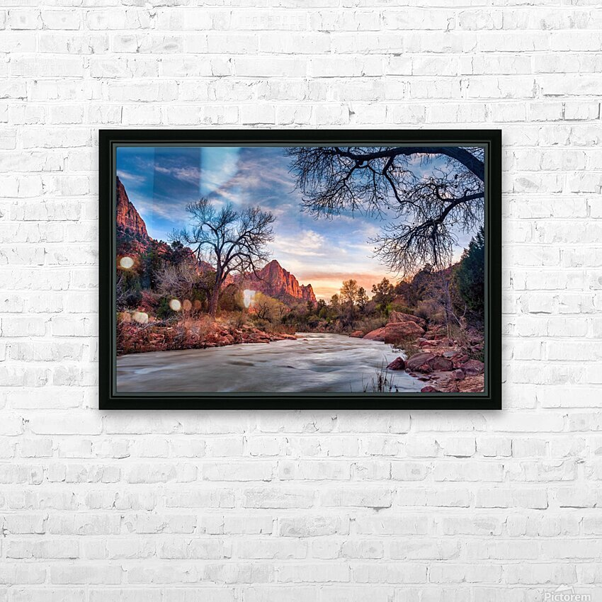 *** HD Sublimation Metal print with Decorating Float Frame (BOX)