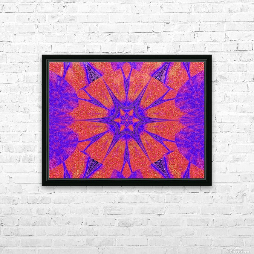 Lotus And Sunshine 2 HD Sublimation Metal print with Decorating Float Frame (BOX)