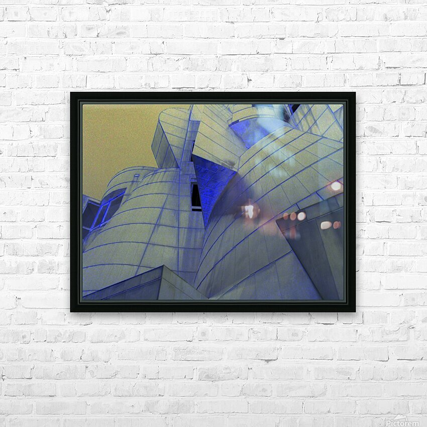 night vision HD Sublimation Metal print with Decorating Float Frame (BOX)