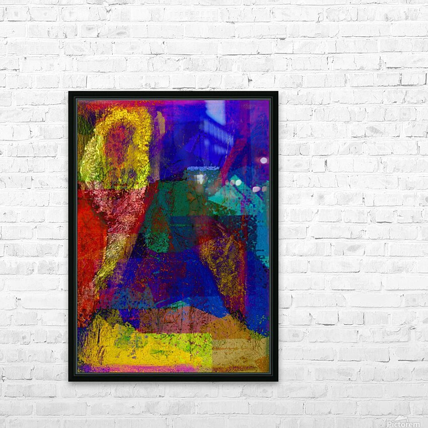 The Climber V2 HD Sublimation Metal print with Decorating Float Frame (BOX)