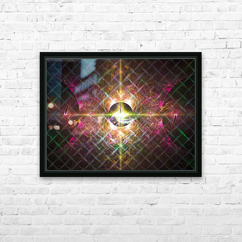 Pulse HD Sublimation Metal print with Decorating Float Frame (BOX)