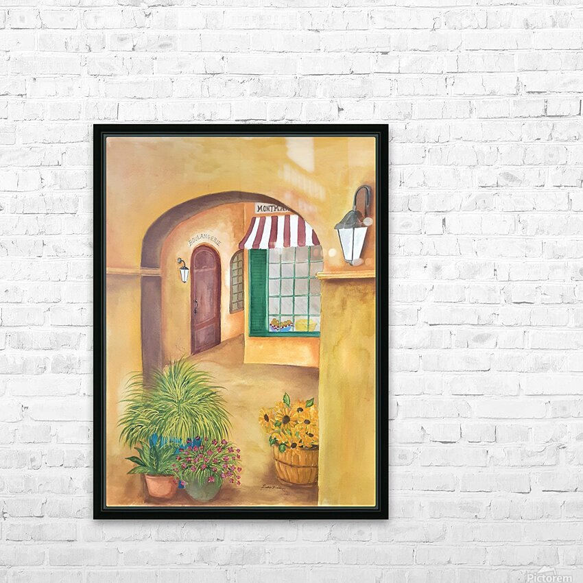 Boulangerie HD Sublimation Metal print with Decorating Float Frame (BOX)