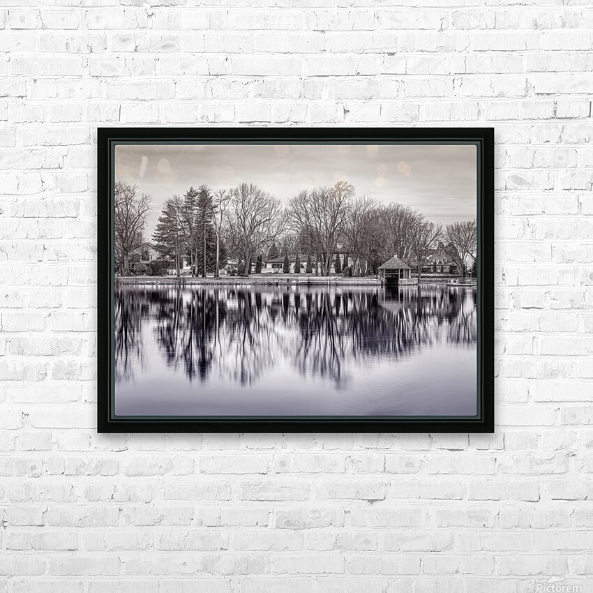 ile Roussin HD Sublimation Metal print with Decorating Float Frame (BOX)