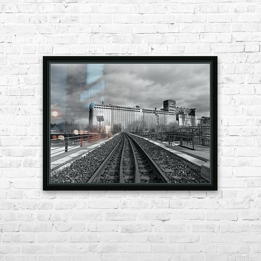 Vieux Montreal HD Sublimation Metal print with Decorating Float Frame (BOX)
