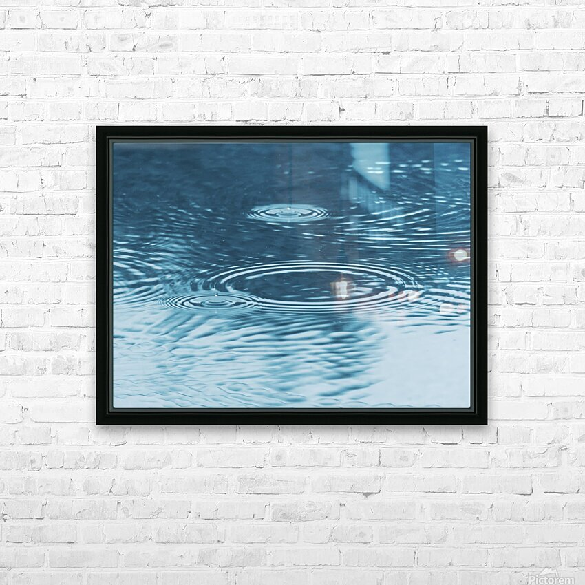 Pluie HD Sublimation Metal print with Decorating Float Frame (BOX)