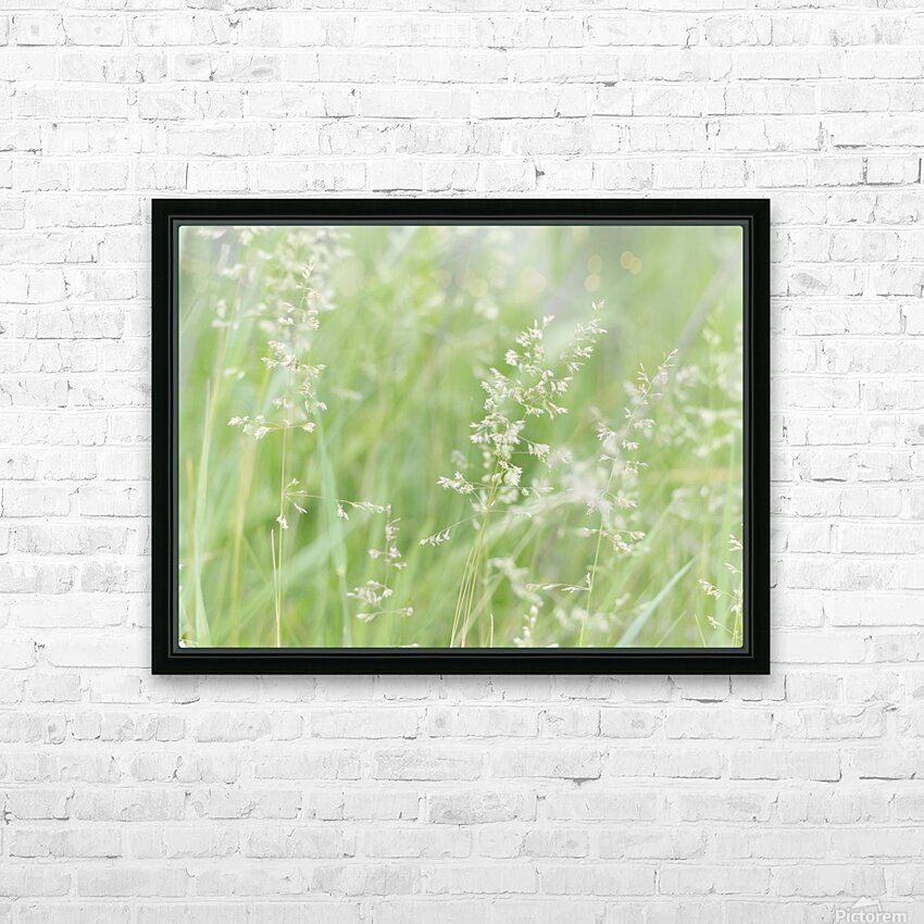 Herbe haute HD Sublimation Metal print with Decorating Float Frame (BOX)