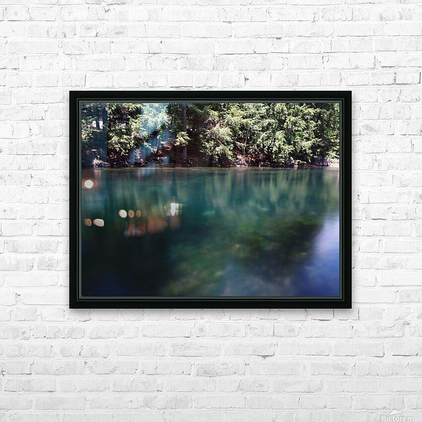 Saint Laurent HD Sublimation Metal print with Decorating Float Frame (BOX)