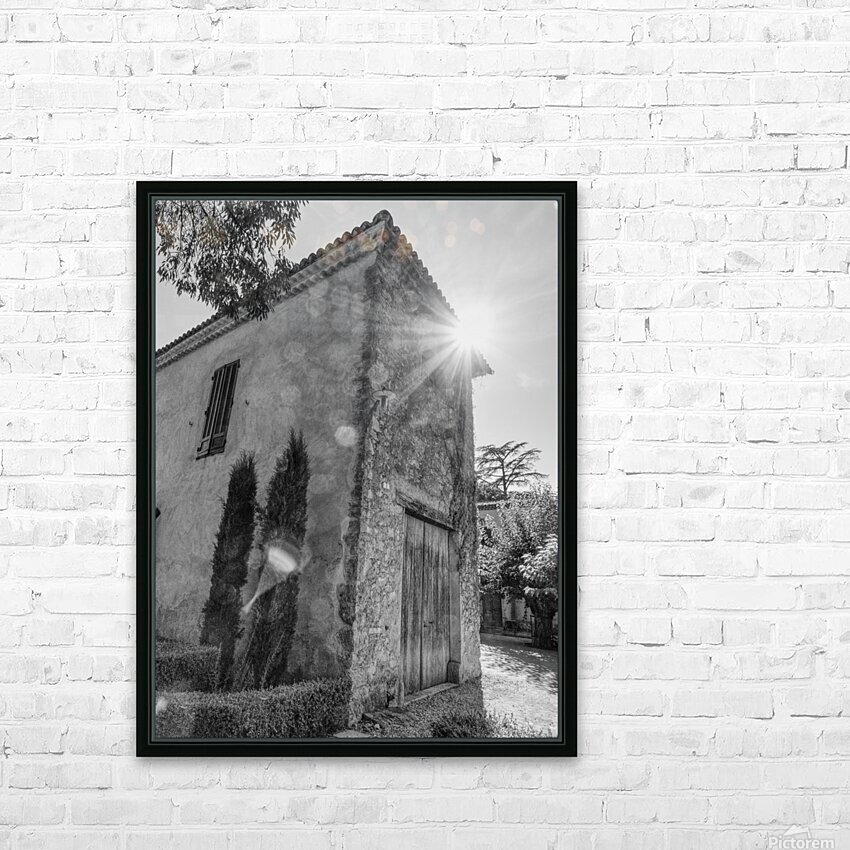 Provence HD Sublimation Metal print with Decorating Float Frame (BOX)