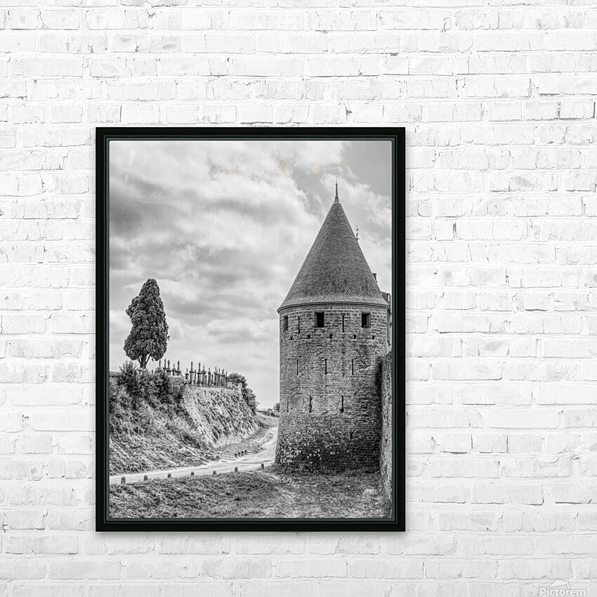 Carcassonne HD Sublimation Metal print with Decorating Float Frame (BOX)