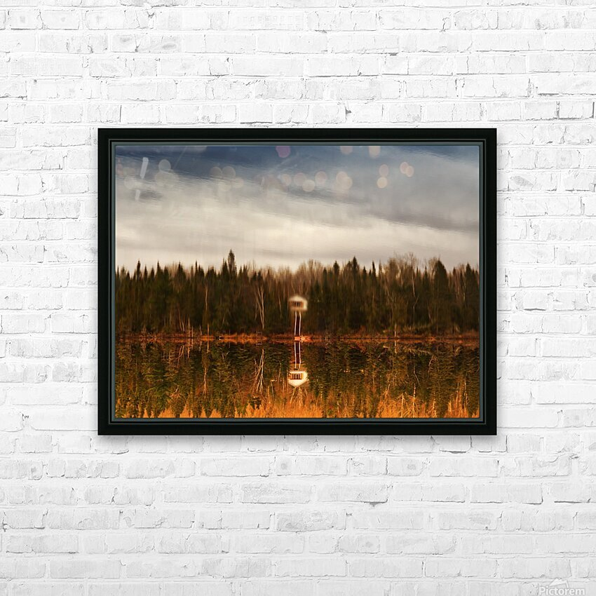 Reflection HD Sublimation Metal print with Decorating Float Frame (BOX)