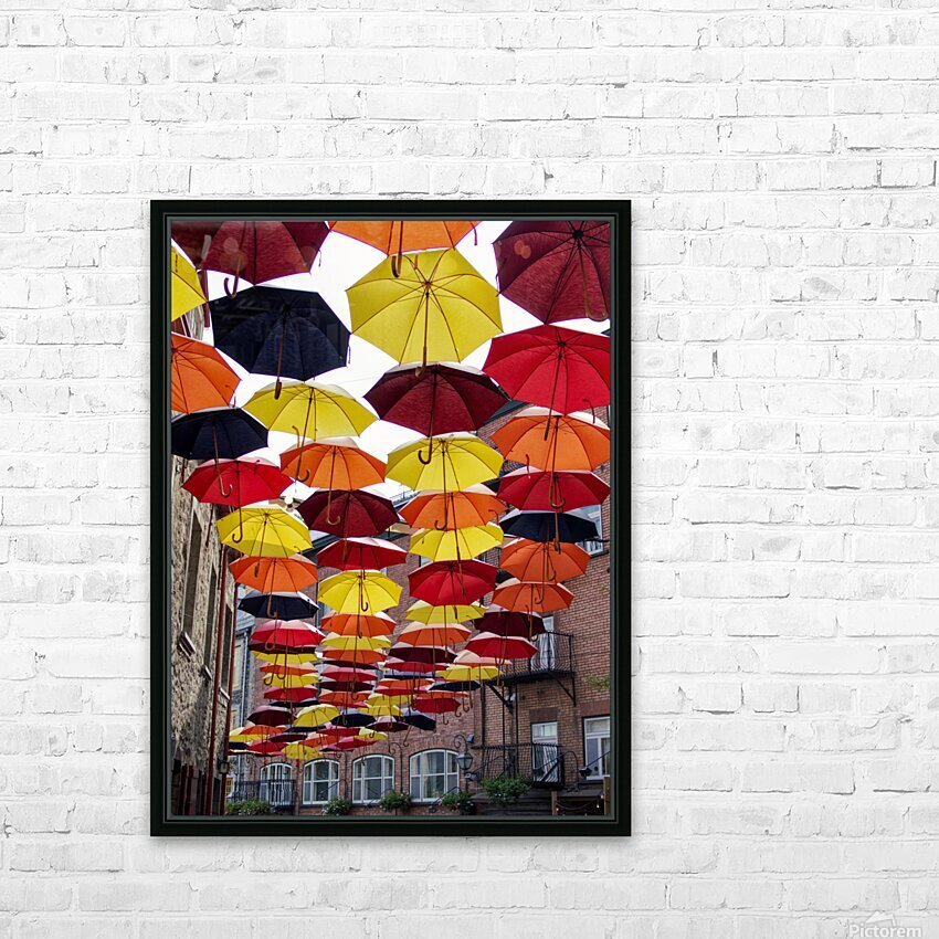 parapluies HD Sublimation Metal print with Decorating Float Frame (BOX)