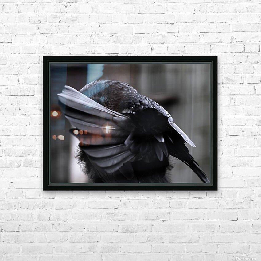 La corneille HD Sublimation Metal print with Decorating Float Frame (BOX)
