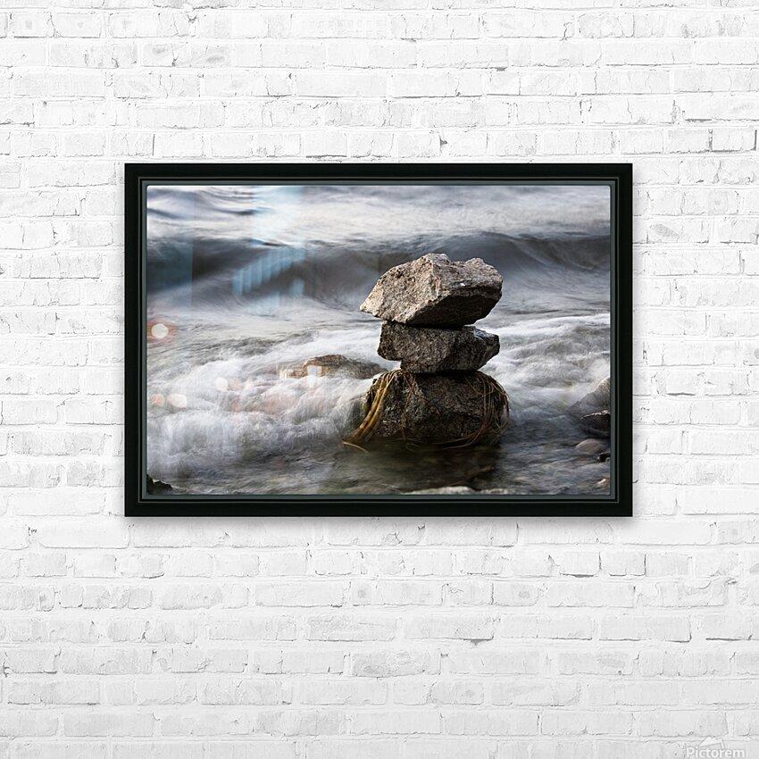 Desktop HD Sublimation Metal print with Decorating Float Frame (BOX)