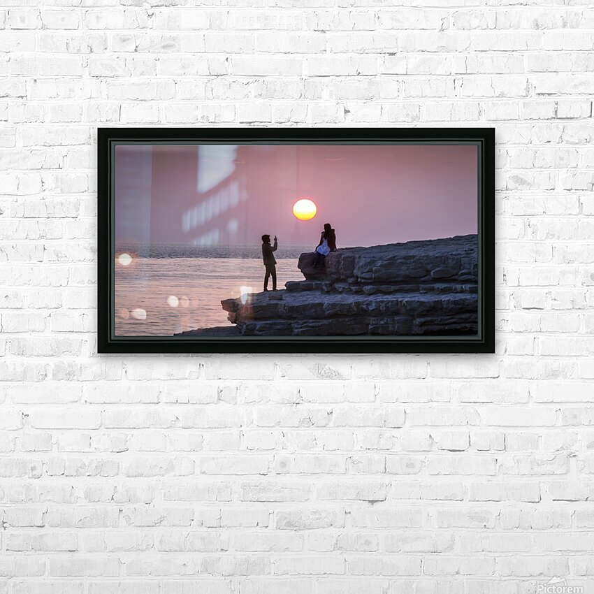 Photo opportunity at Nash Point HD Sublimation Metal print with Decorating Float Frame (BOX)