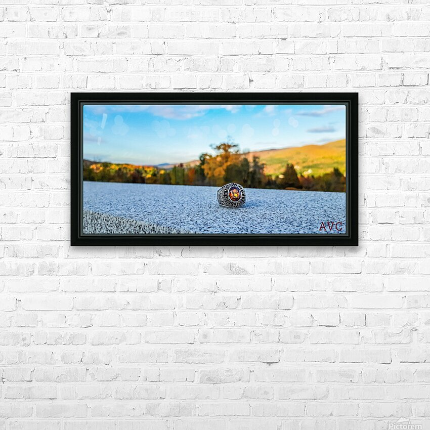 One for the Ring-- Autumn HD Sublimation Metal print with Decorating Float Frame (BOX)