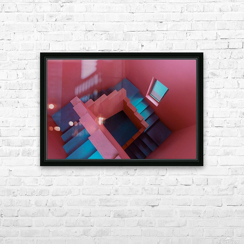 Monument Valley HD Sublimation Metal print with Decorating Float Frame (BOX)