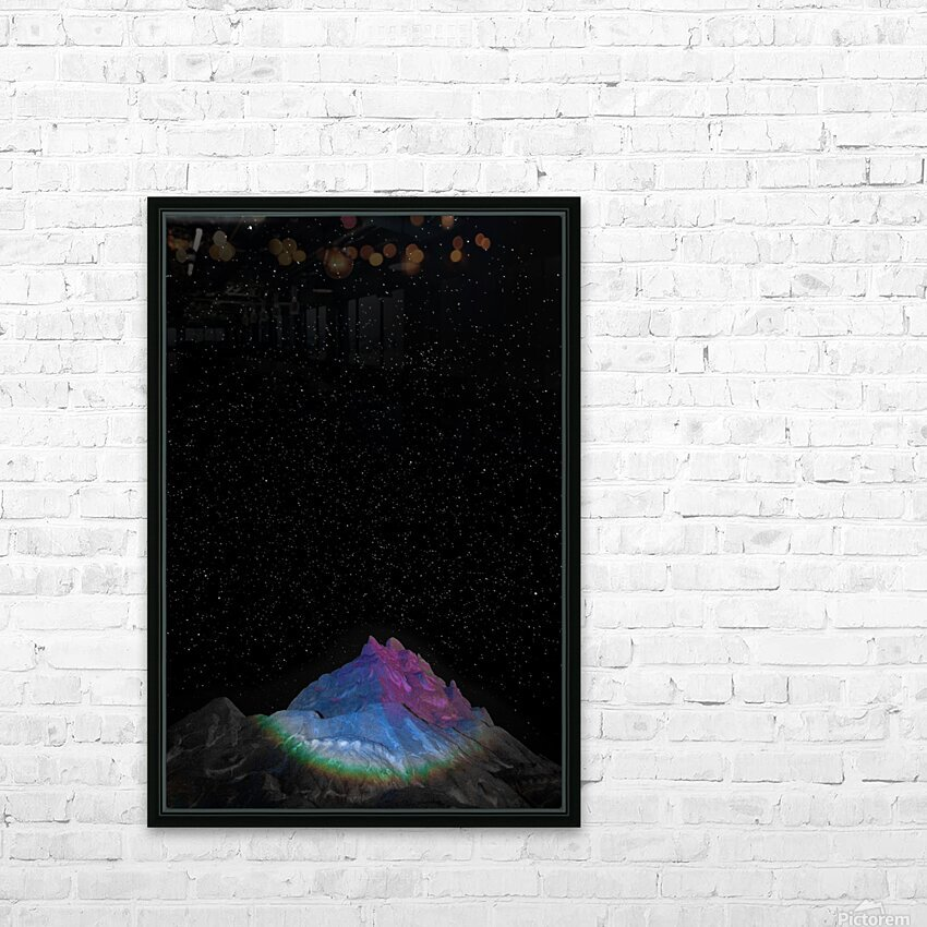 Light HD Sublimation Metal print with Decorating Float Frame (BOX)