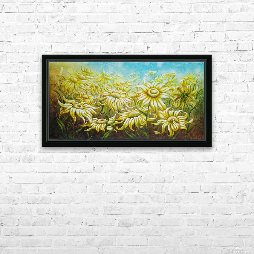 Splash of summer HD Sublimation Metal print with Decorating Float Frame (BOX)