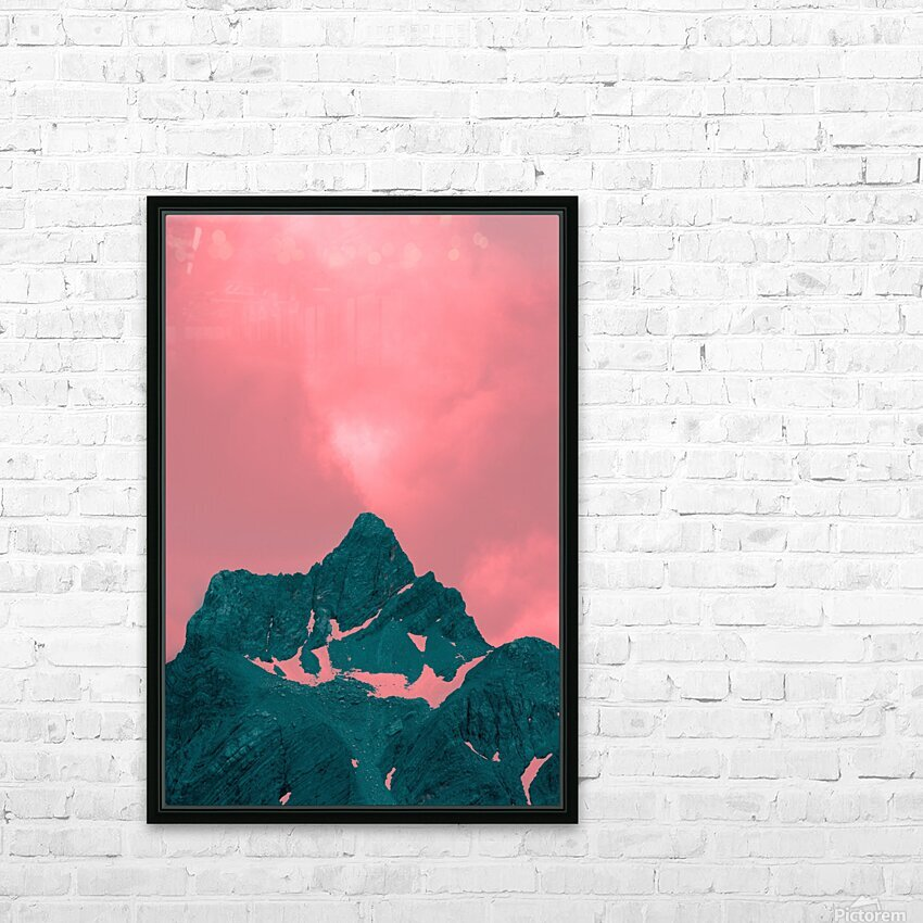 Firn HD Sublimation Metal print with Decorating Float Frame (BOX)