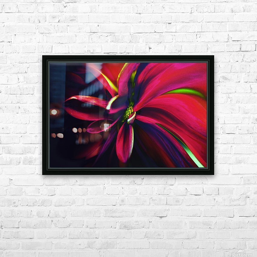 Reaching HD Sublimation Metal print with Decorating Float Frame (BOX)
