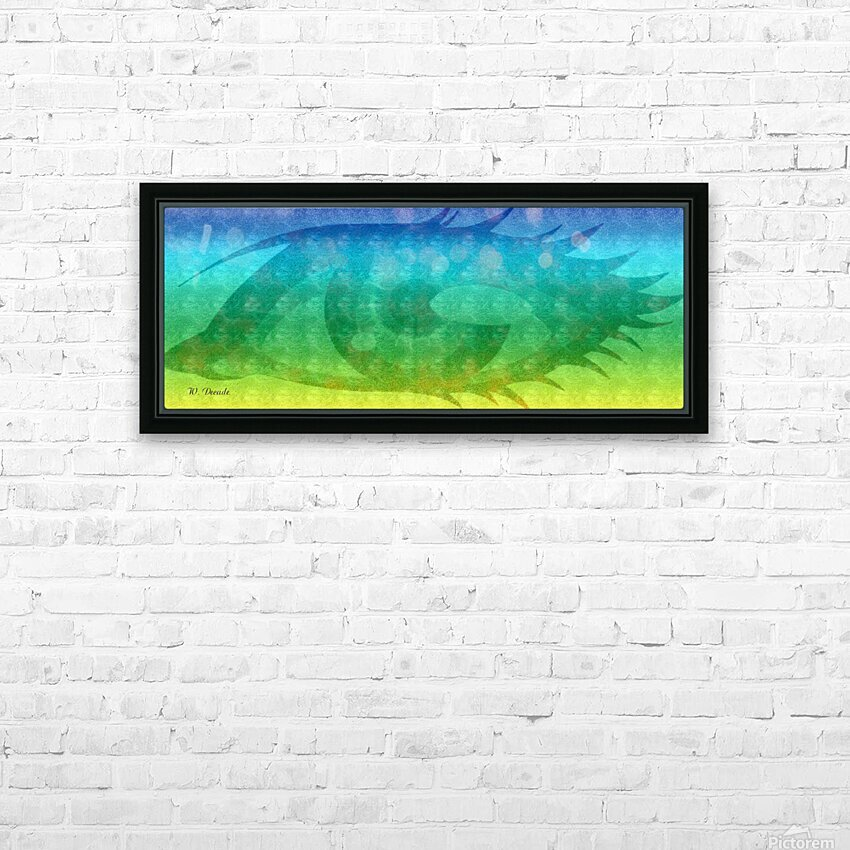 Eye Sees Them All HD Sublimation Metal print with Decorating Float Frame (BOX)