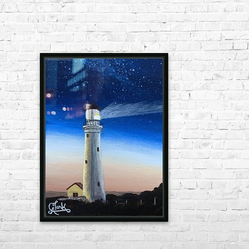 Lighting the Way HD Sublimation Metal print with Decorating Float Frame (BOX)